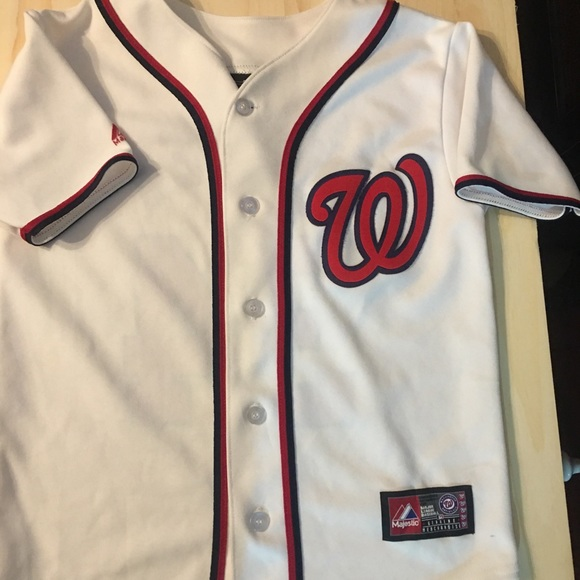 save off 7d2d1 dd35e Washington Nationals youth jersey